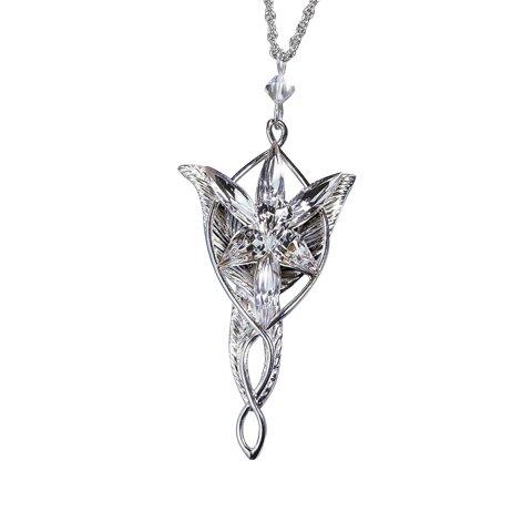 Srebrny wisiorek Arweny - LOTR Arwen`s Evenstar Pendant (NV2770)