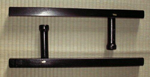 Tonfa kwadratowa czarna (GTTC742)