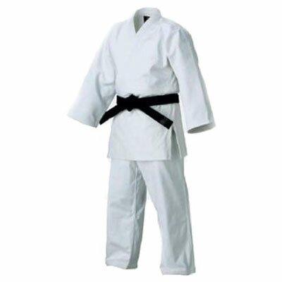 Judogi plecionka - białe grube 14oz