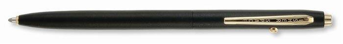 Długopis kosmiczny - Matte Black Shuttle Pen wit Gold Trim (CH4B)