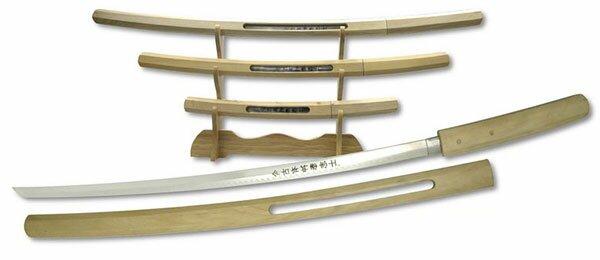 Zestaw mieczy Samurai Shirasaya Katana (JS-703N4)