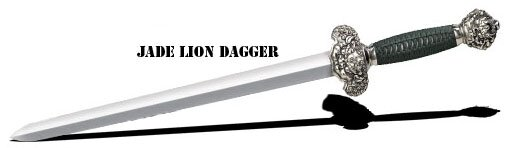 Miecz Cold Steel Jade Lion Dagger (88RLD)