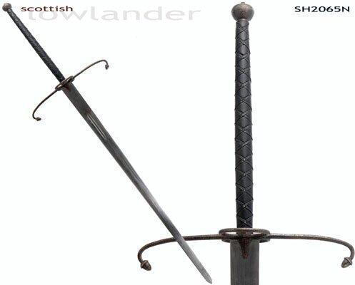 Miecz dwuręczny Hanwei 'Lowlander' Two-Handed Great Sword (Antiqued) (SH2065N)