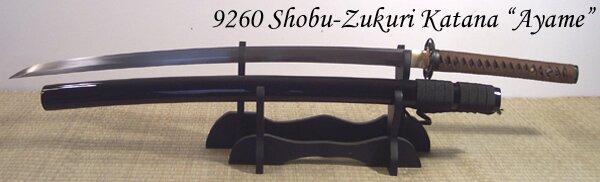 Katana Cheness Shobu Zukuri - Ayami 9260 Spring Steel