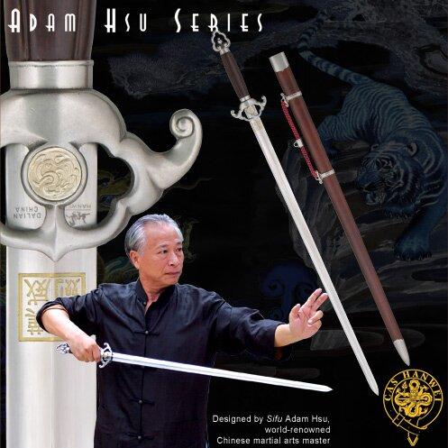 Miecz Hanwei Adam Hsu Jian -Wood Handle 28