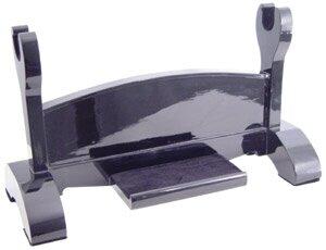 Stojak na miecz samurajski Black Laquered Single Katana Stand (OH2105)