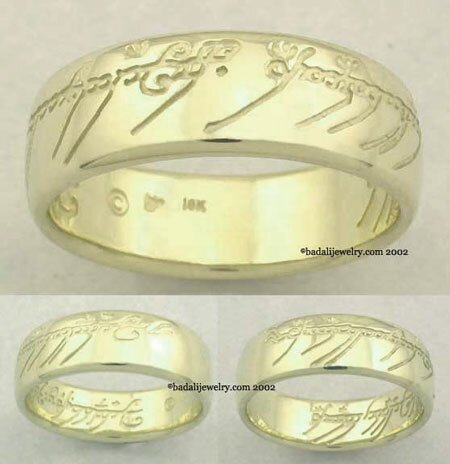 10k. Gold The One Ring (ORG-10)