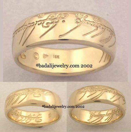 18k. Yellow Gold The One Ring (ORG-18)