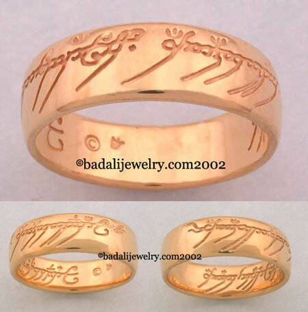 22k. Yellow Gold The One Ring (ORG-22)