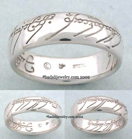 Sterling Silver The One Ring (ORS-02)