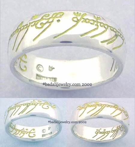 Sterling Silver The One Ring Yellow (ORS-04)