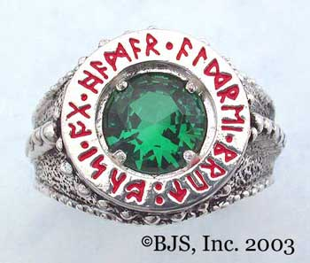 Dwarven Ring of Power - Emerald (DWR-E)