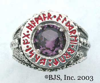 Dwarven Ring of Power - Amethyst (DWR-A)