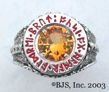 Dwarven Ring of Power - Topaz (DWR-T)