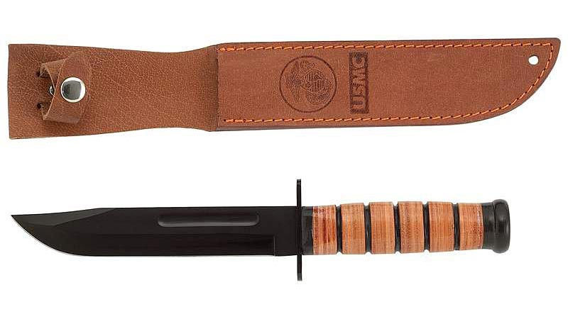 Nóż Mossberg Military Leather Handle Fixed Blade