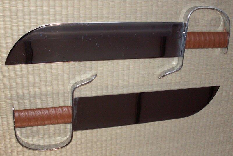Miecze motylkowe treningowe (GTTD462)