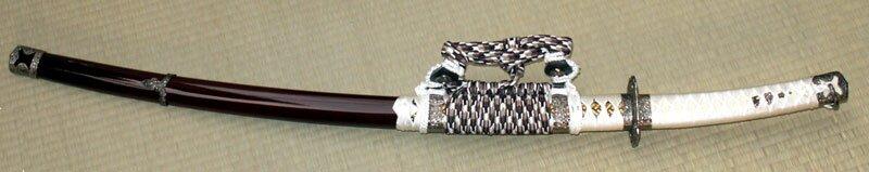 Miecz ozdobny Samurai Tachi Brown