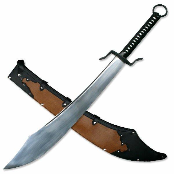 Chiński Miecz Wojenny - Chinese War Sword with Sheath
