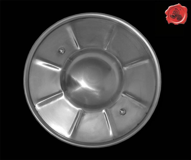 Puklerz karbowany stalowy GDFB Fluted Buckler (GDFBBK004-15)