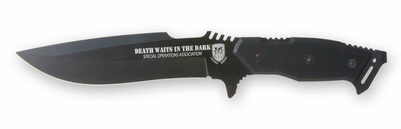 Nóż Death Waits in the Dark Fighting Knife (UC2696)