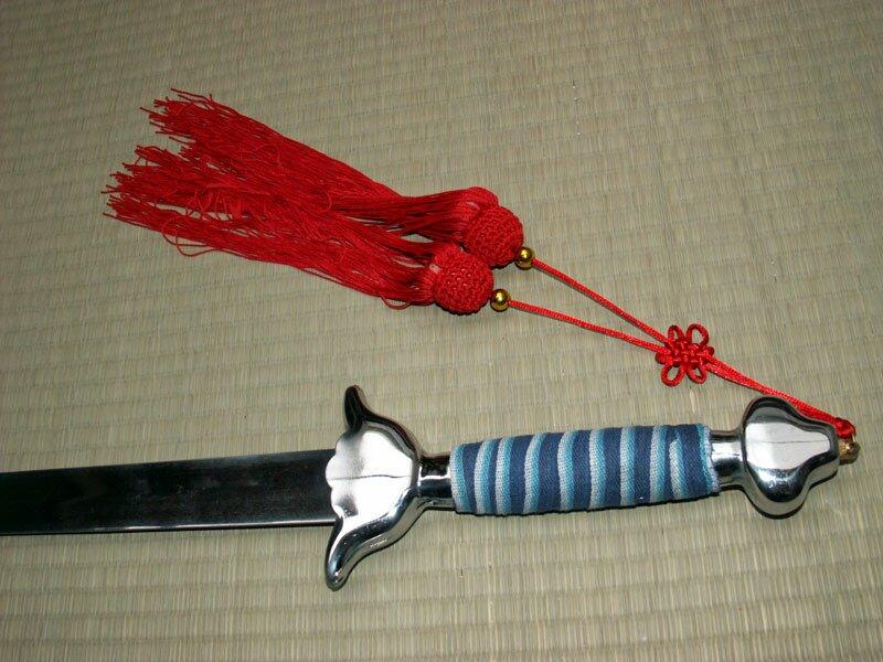 Miecz elastyczny Tai Chi Sword Steel 38 (GTTD472F)