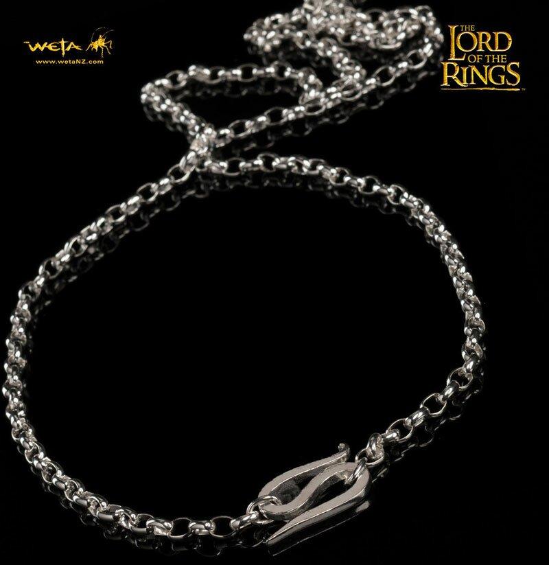 LOTR One Ring - srebrny łańcuszek Froda (WETAFC)