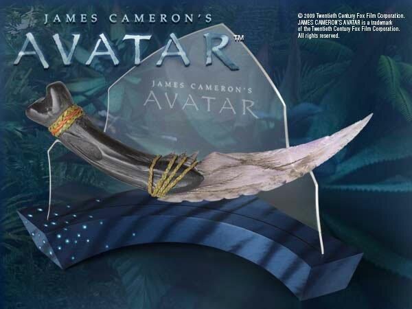 Navi Curved Dagger sztylet z filmu Avatar (NN8804)