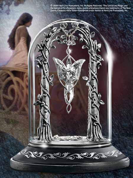 Stojak na wisiorek Arweny - Lord of the Rings Display for the Evenstar Pendant (nob9551)
