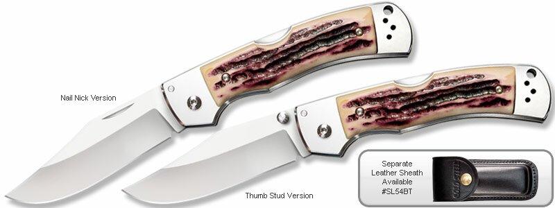 Nóż Cold Steel Mackinac Hunter Thumb Stud Version (54FBT)
