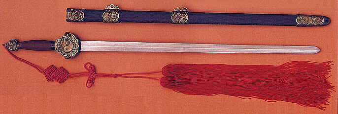 Damascus Tai Chi Sword (SH1013)