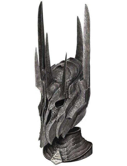 Hełm Saurona z filmu Władca Pierœcieni - LOTR Helm Of Sauron (UC2941)