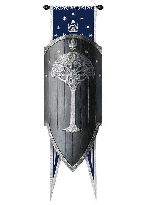 Tarcza Gondoru LOTR Second Age Gondorian War Shield (UC2940)