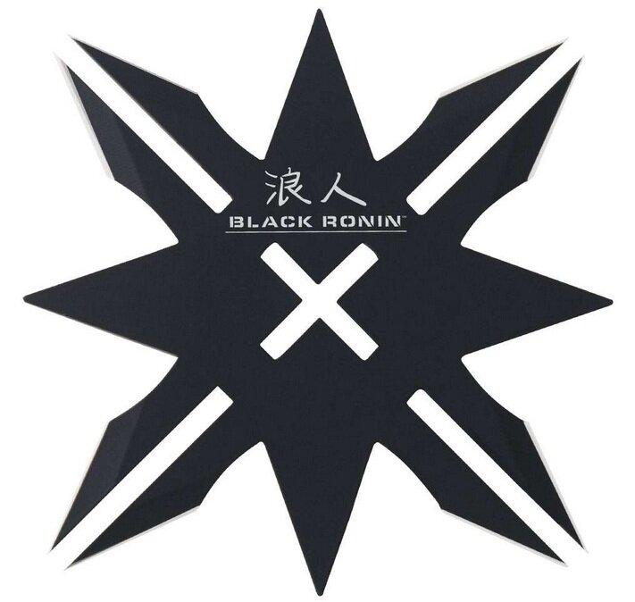 Gwiazdka United Cutlery Black Ronin 12-Point Throwing Star & Sheath (UC2917)