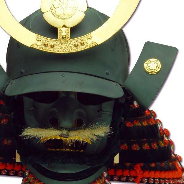 Hełm samuraja - Oda Nobunaga Kabuto & Mempo (AH2083)
