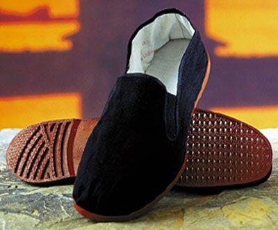 Kung Fu Slippers - Black