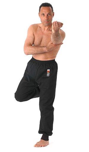 Spodnie do kung fu - Kung Fu Trousers - Black (105-005/A)