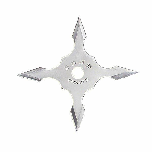 Ninja Star 4Pt SS 4`` w/pouch (JL-SB1)
