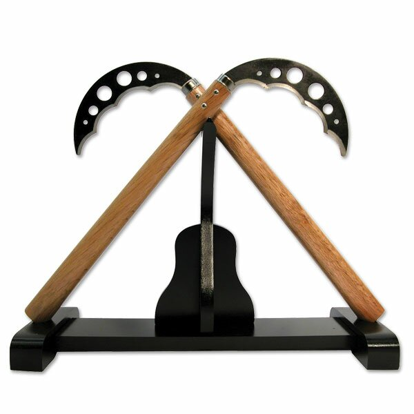 Deluxe kobudo display stand for kama (SE-804B)