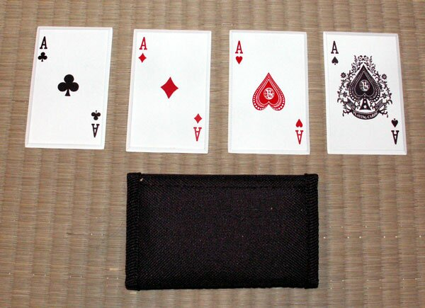 ``4 of a Kind`` - SS card throwers (JL-4A)