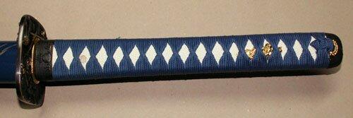 Dodatkowe zdjęcia: Samurai Katana - Samurai Tsuba Blue