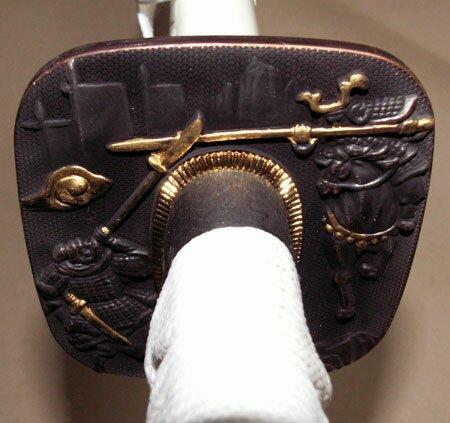 Dodatkowe zdjęcia: Samurai Katana - Samurai Tsuba White
