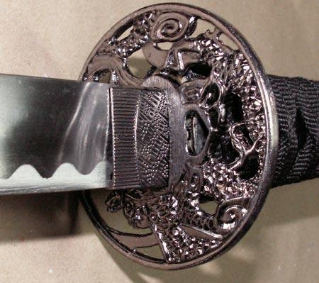 Dodatkowe zdjęcia: Zestaw trzech mieczy samurajskich z podstawką