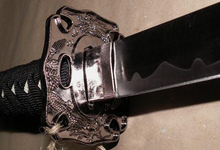 Dodatkowe zdjęcia: Zestaw 3 mieczy samurajskich z podstawką