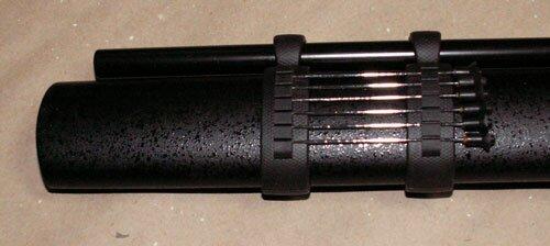 Miecz wojownika Ninja z dmuchawką