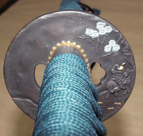 Miecz Master Cutlery Samurai Katana Green
