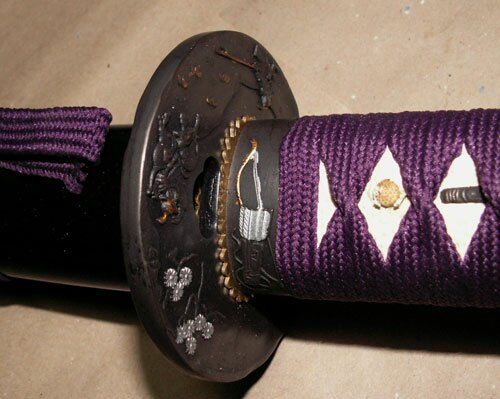 Miecz Master Cutlery Samurai Katana Purple