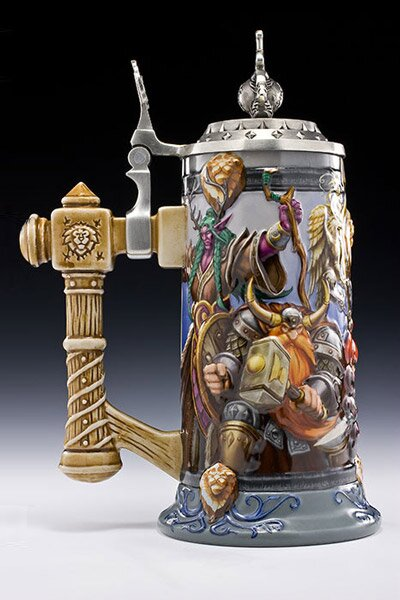 Kufel do piwa z gry World Of Warcraft Alliance United