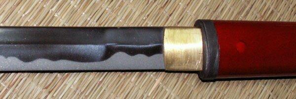 Hanwei Zatoichi Stick/Sword (Red Scabbard)