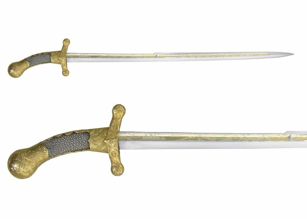 Dodatkowe zdjęcia: Hanwei Charlemagne Saber - Szabla Karola Wielkiego