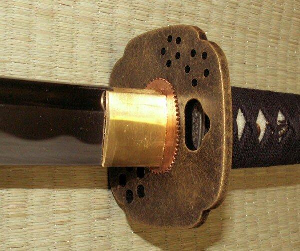 Katana Cheness Oniyuri - 9260 Custom Bujinkan Katana w Bohi